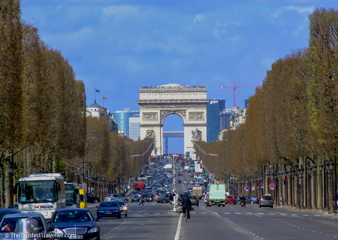 Champs Elysees - 30 Things to Do in Paris - The Trusted Traveller