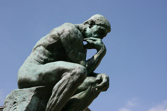 Rodin's The Thinker at Musee Rodin - 30 Things to Do in Paris - The Trusted Traveller