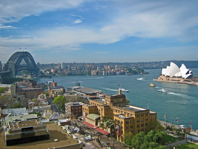 Sydney Harbour view from the Four Seasons Hotel - Where to Stay - The Trusted Traveller