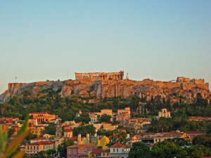 The view from the rooftop bar at the AthenStyle Hostel in Athens - Where to Stay - The Trusted Traveller