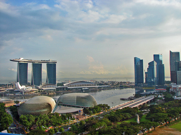 The incredible view from the Swissotel The Stamford, Singapore - Where to Stay - The Trusted Traveller