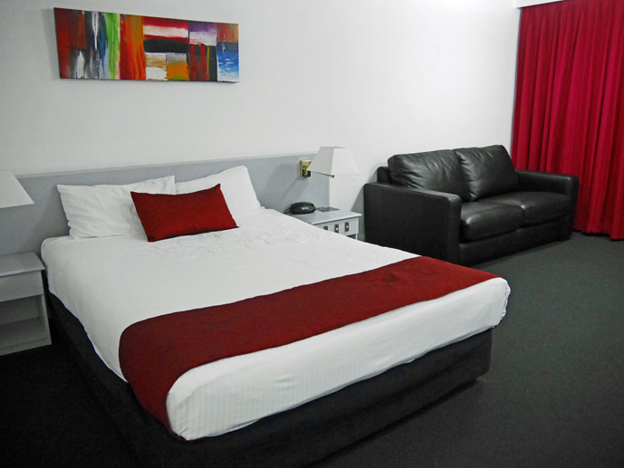 Motel style rooms at the Kiama Shores Motel- Where to Stay - The Trusted Traveller