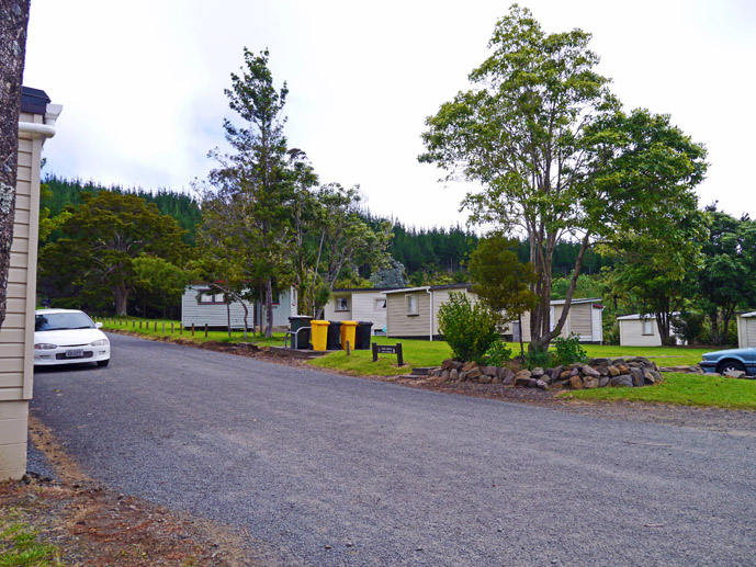 Simple camp and cabin park in the Waipoua Forest in Northland, New Zealand- Where to Stay - The Trusted Traveller