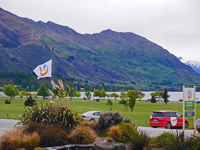 Looking out from the YHA Wanaka on New Zealand's South Island- Where to Stay - The Trusted Traveller