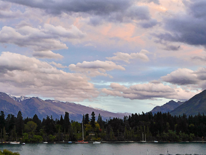 Spectacular views from the lake view rooms at Lomond Lodge in Queenstown, New Zealand- Where to Stay - The Trusted Traveller
