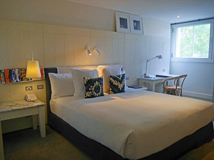 Chic furnishings in the rooms at the Sebel Pier One, Sydney- Where to Stay - The Trusted Traveller