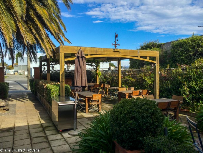 The Nor'wester Cafe in Amberley - Driving from Christchurch to Marlborough - The Trusted Traveller