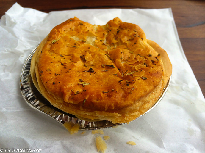 A delicious flaky pie from the Gumnut Patisserie - Things to Do in The Southern Highlands - The Trusted Traveller