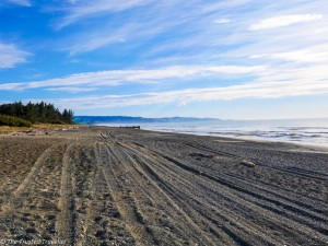 Waikuku Beach - Driving from Christchurch to Marlborough - The Trusted Traveller