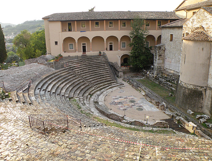 Spoleto - Driving Leonardo's backyard: Five Well/Less-well Known Destinations - A Guest Post on The Trusted Traveller