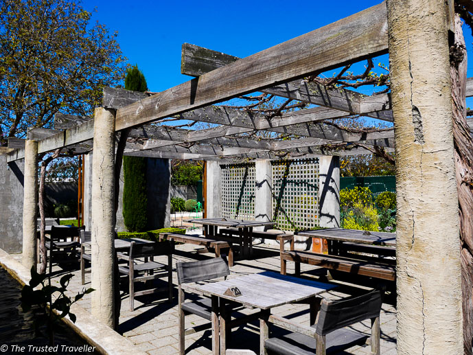 The sun filled courtyard of the Allan Scott Restaurant - Sipping Sav: A Tour of The Marlborough Wine Region - The Trusted Traveller