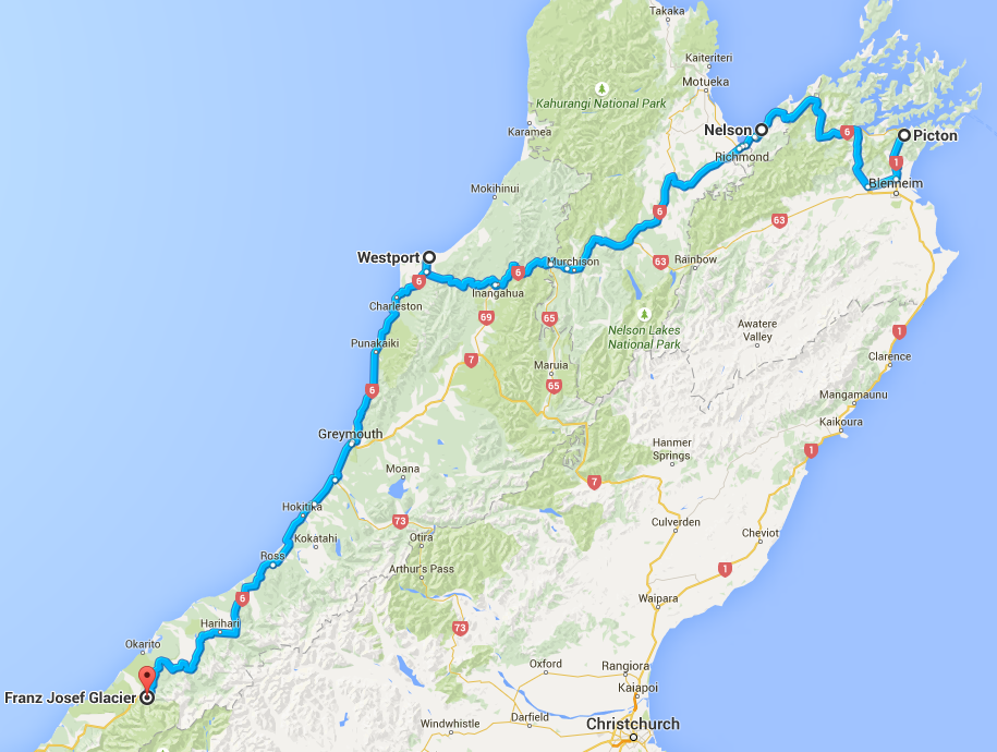 Driving New Zealand's Wild West Coast - The Trusted Traveller