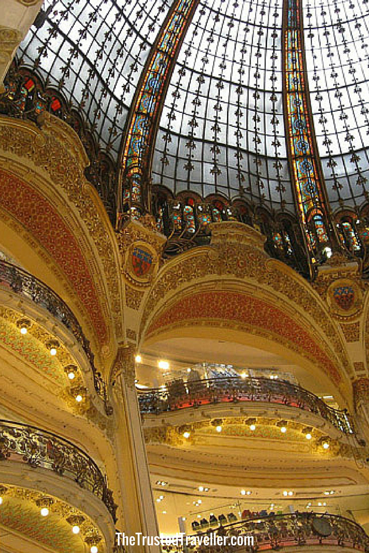 Galleries Lafayette - 30 Things to Do in Paris - The Trusted Traveller