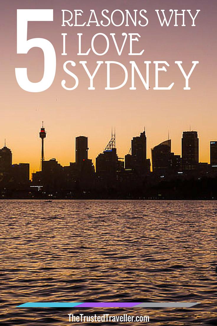 5 Reasons Why I Love Sydney Pin 1