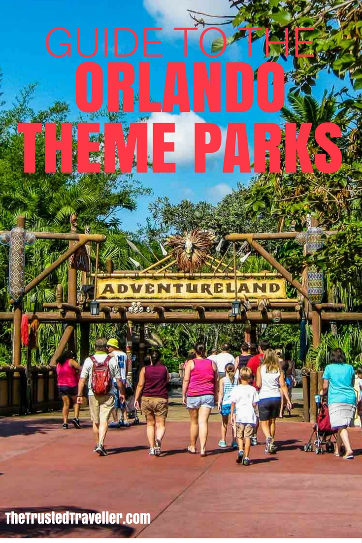 Guide To The Orlando Theme Parks