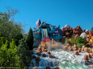 Dudley Do Right's Ripsaw Falls ride at Islands of Adventure - Guide to the Orlando Theme Parks - The Trusted Traveller