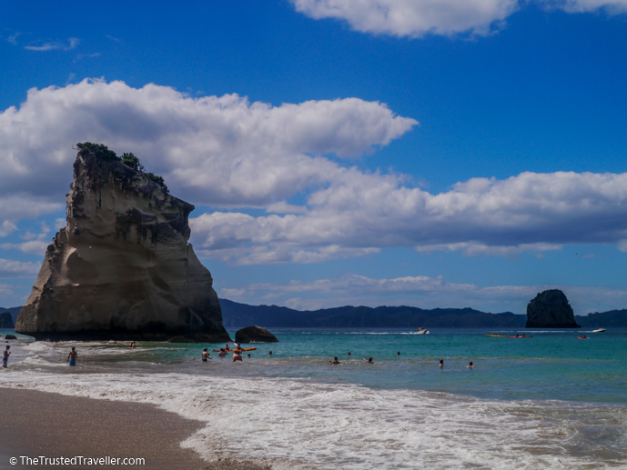 Cathedral Cove in the Coromandel - New Zealand Travel Guide - The Trusted Traveller