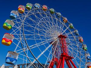 The Ferris Wheel in Luna Park Sydney
