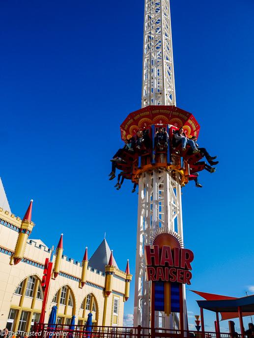 Hair Raiser Ride at Luna Park Sydney - The Trusted Traveller  Luna