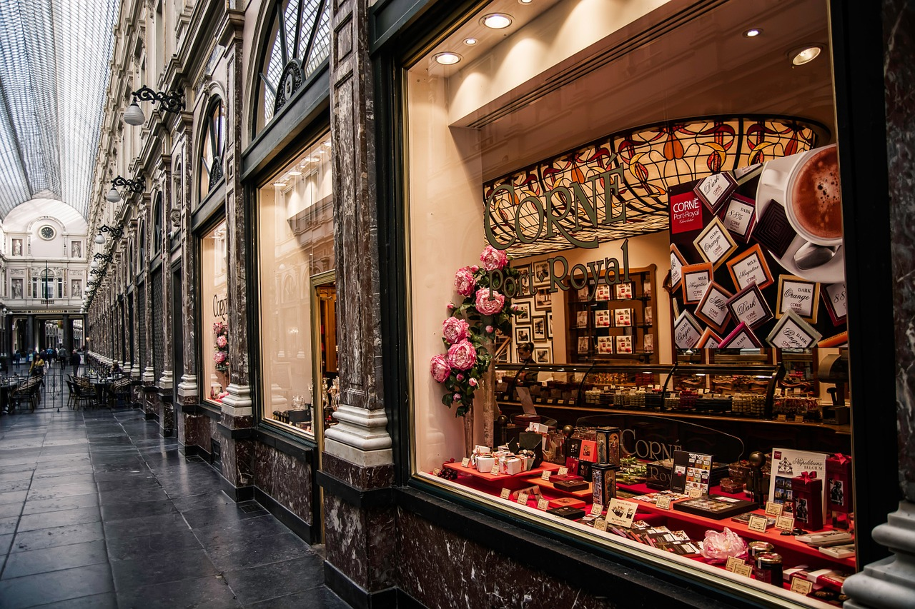 A chocolate shop in Brussels - Belgium Travel Guide - The Trusted Traveller