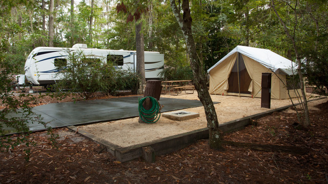 Campsites At Disney S Fort Wilderness Resort Where To