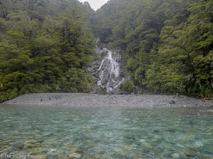 Fantail Falls - The Spectacular Drive from Franz Josef to Queenstown - The Trusted Traveller
