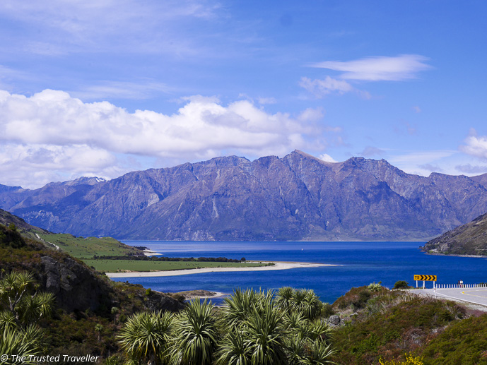The view from The Neck of Lake Hawea - The Spectacular Drive from Franz Josef to Queenstown - The Trusted Traveller