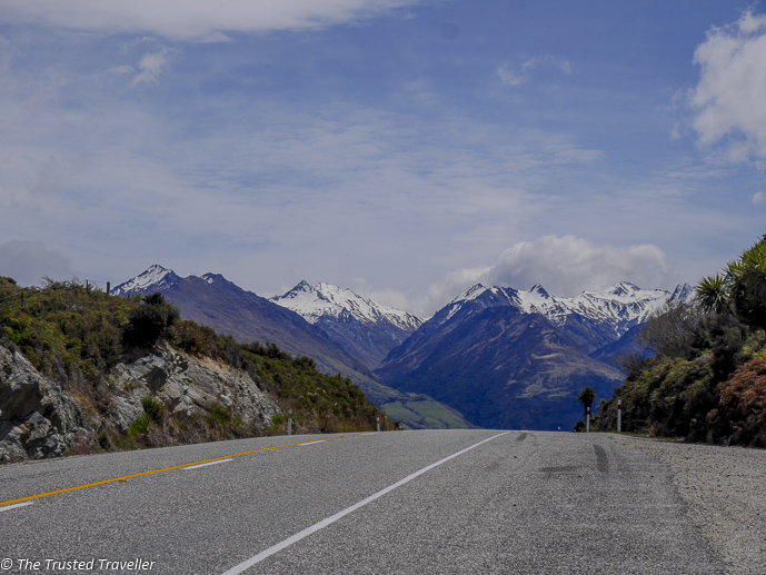 On the road - The Spectacular Drive from Franz Josef to Queenstown - The Trusted Traveller