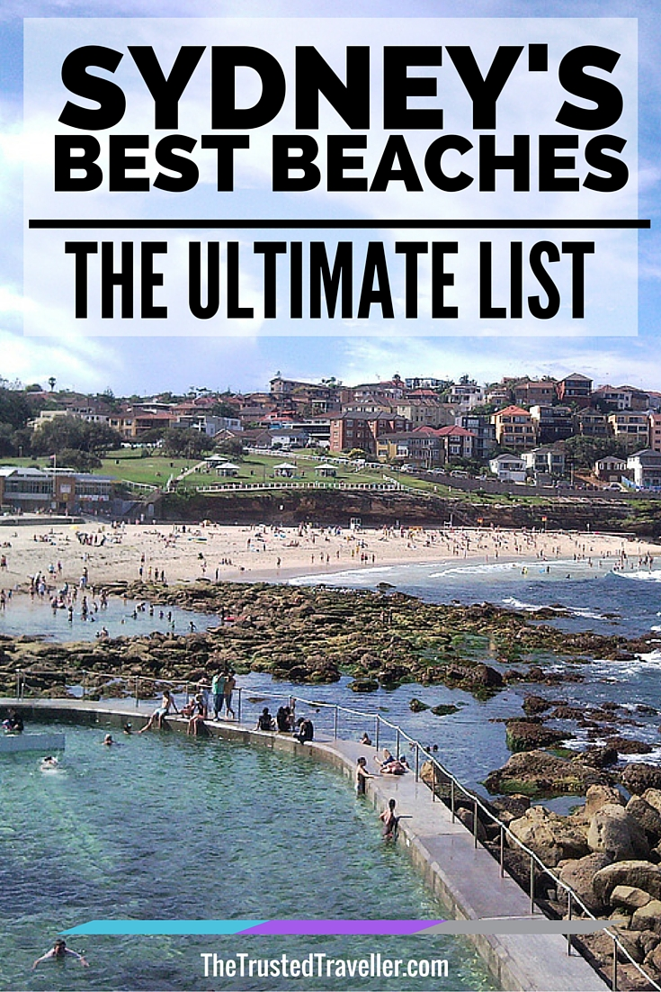 Bronte Beach in Sydney's Eastern Suburbs - Sydney's Best Beaches: The Ultimate List - The Trusted Traveller