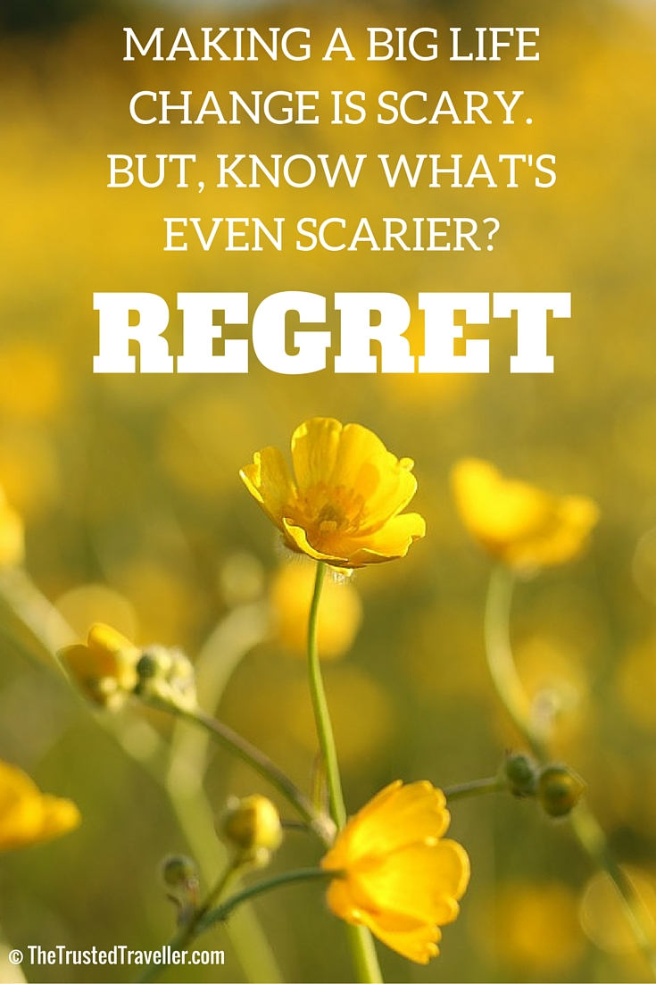 Making a big life change can be scary. But, know what;s even scarier? REGRET - Our Great Australian Road Trip Plan - The Trusted Traveller