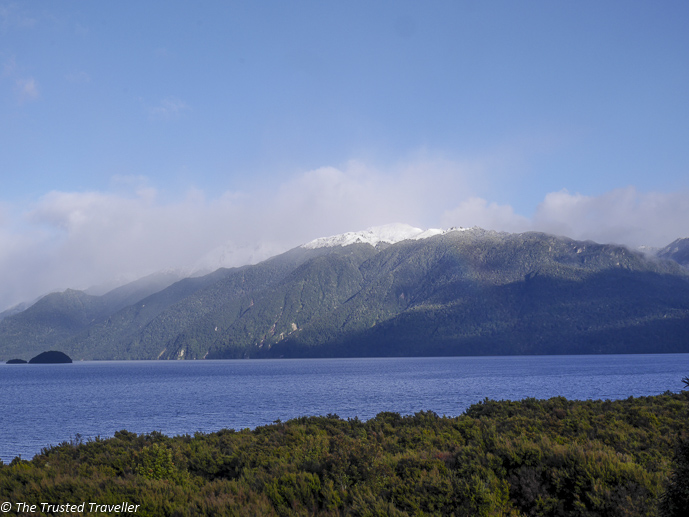 Lake Te Anau seen on the drive to Milford Sound - Our Journey to Milford Sound - In Photos - The Trusted Traveller