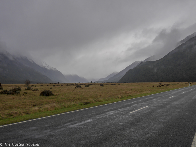 Crazy beautiful scenery on the drive to Milford Sound - Our Journey to Milford Sound - In Photos - The Trusted Traveller