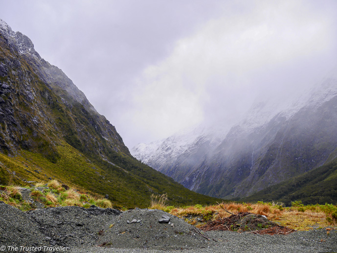 Can it get any more atmospheric! - Our Journey to Milford Sound - In Photos - The Trusted Traveller