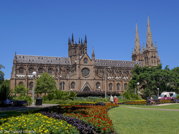 St Mary's Cathedral, one of Sydney's finest buildings - 35 Free Things to Do in Sydney - The Trusted Traveller