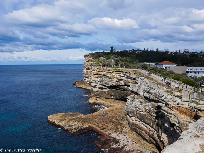 Spectacular views from The Gap at Watsons Bay - 35 Free Things to Do in Sydney - The Trusted Traveller