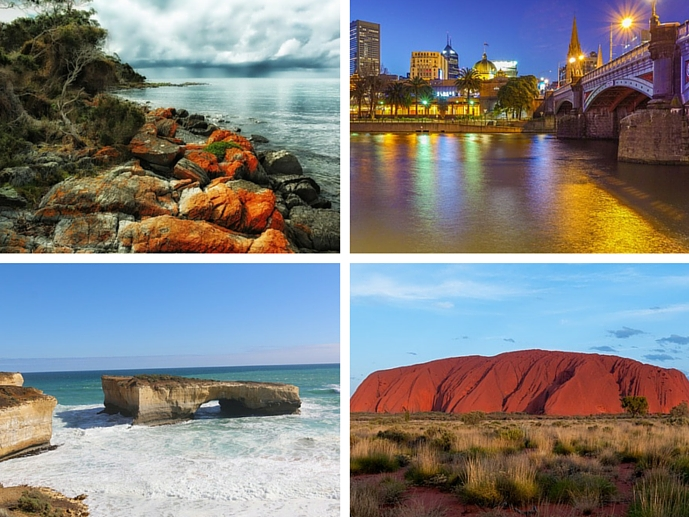 Some of the places we will see on our great Australian Road Trip - The Trusted Traveller