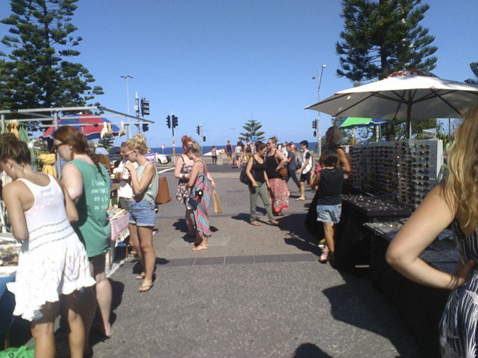 Bondi Beach Community Markets - Sydney's Best Markets - The Trusted Traveller