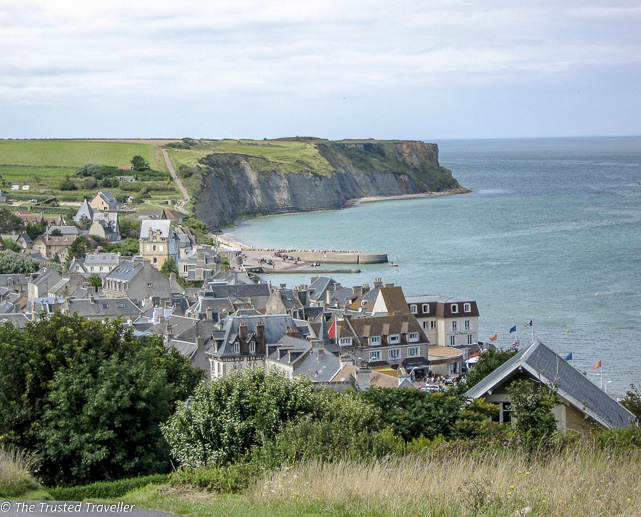 The Normandy Coast at Arromanches - The Best of France: A Two Week Itinerary - The Trusted Traveller