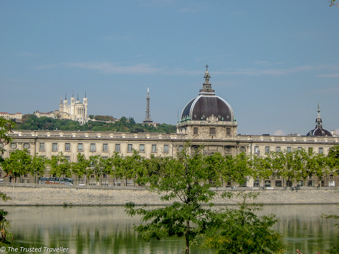 Lyon's beautiful and iconic architecture - The Best of France: A Two Week Itinerary - The Trusted Traveller