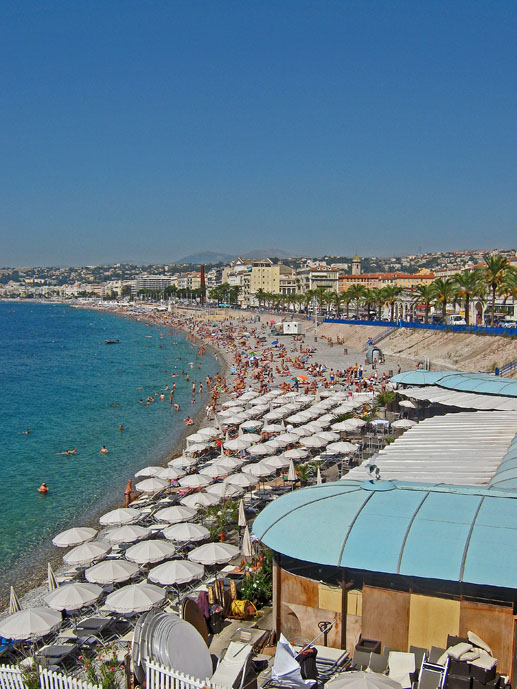 Nice Beach - The Best of France: A Two Week Itinerary - The Trusted Traveller