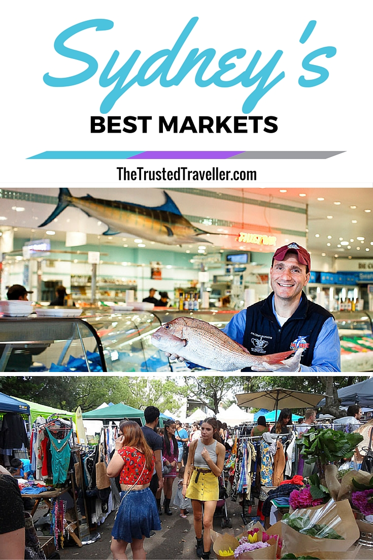 Sydney Fish Market & Glebe Markets, two of Sydney's Best Markets - The Trusted Traveller