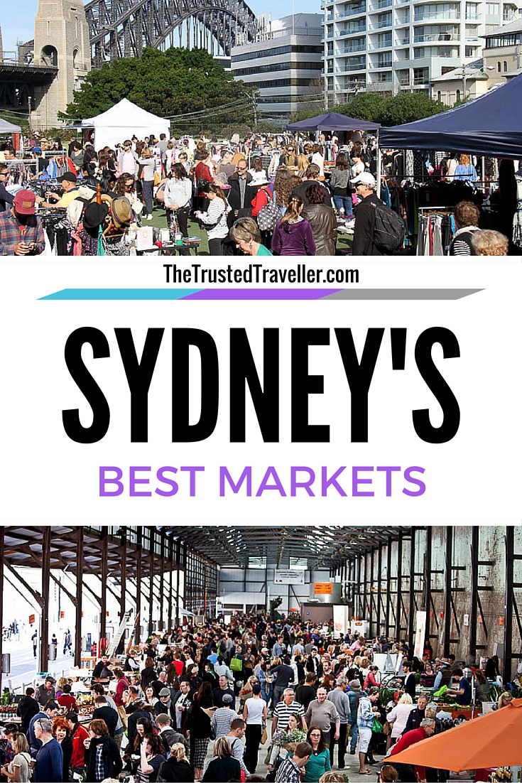 Kirribilli Markets & Carriageworks Farmers Markets, two of Sydney's Best Markets - The Trusted Traveller