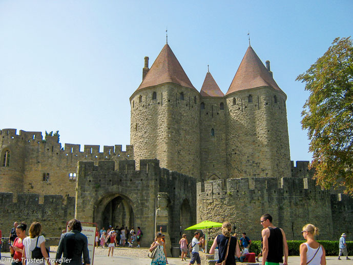 The fortified town of Carcassonne - 7 Places to Visit in France That Aren't Paris - The Trusted Traveller