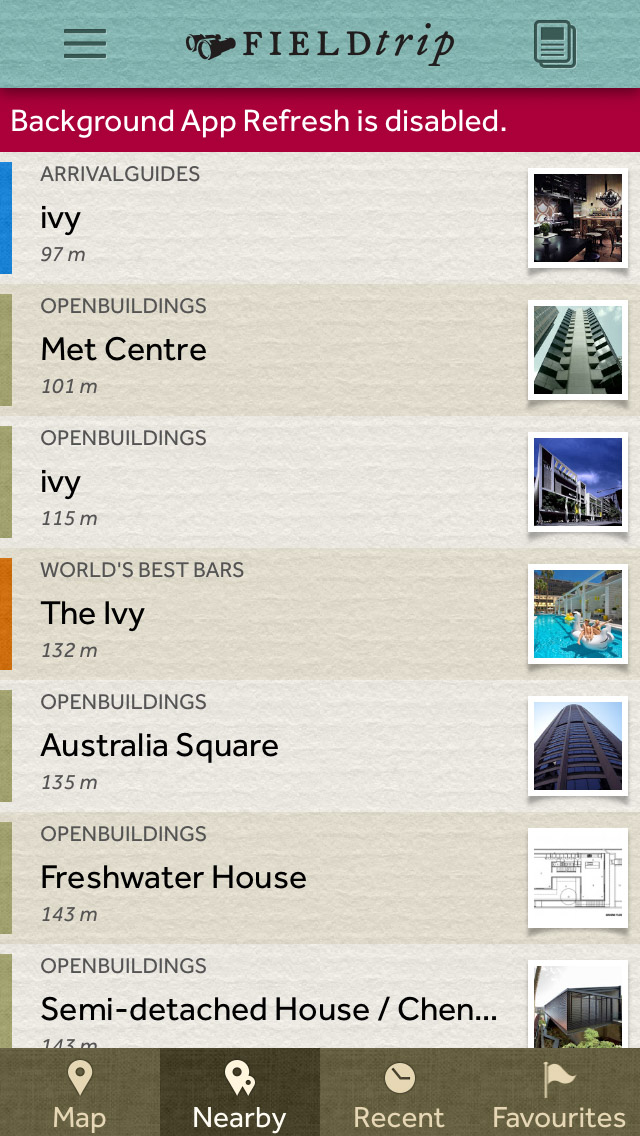 The Field Trip App - The Best Free Travel Apps to Help You Travel Smarter - The Trusted Traveller