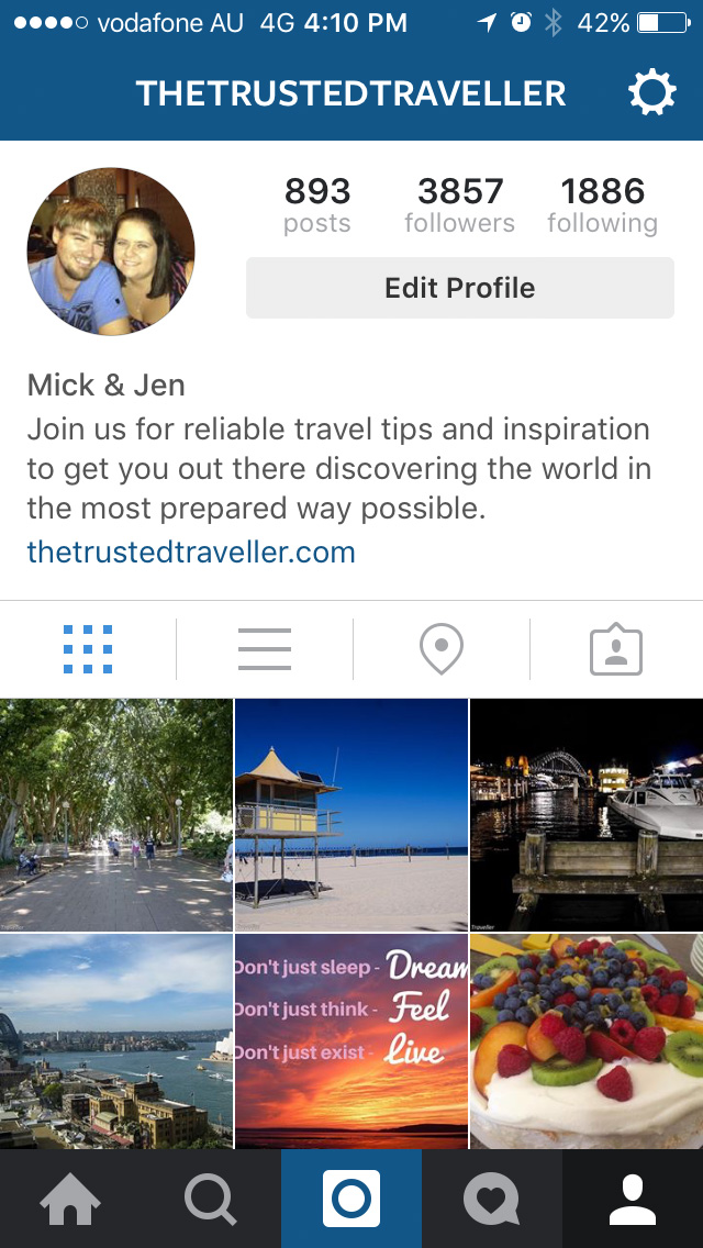 The Instagram App - The Best Free Travel Apps to Help You Travel Smarter - The Trusted Traveller