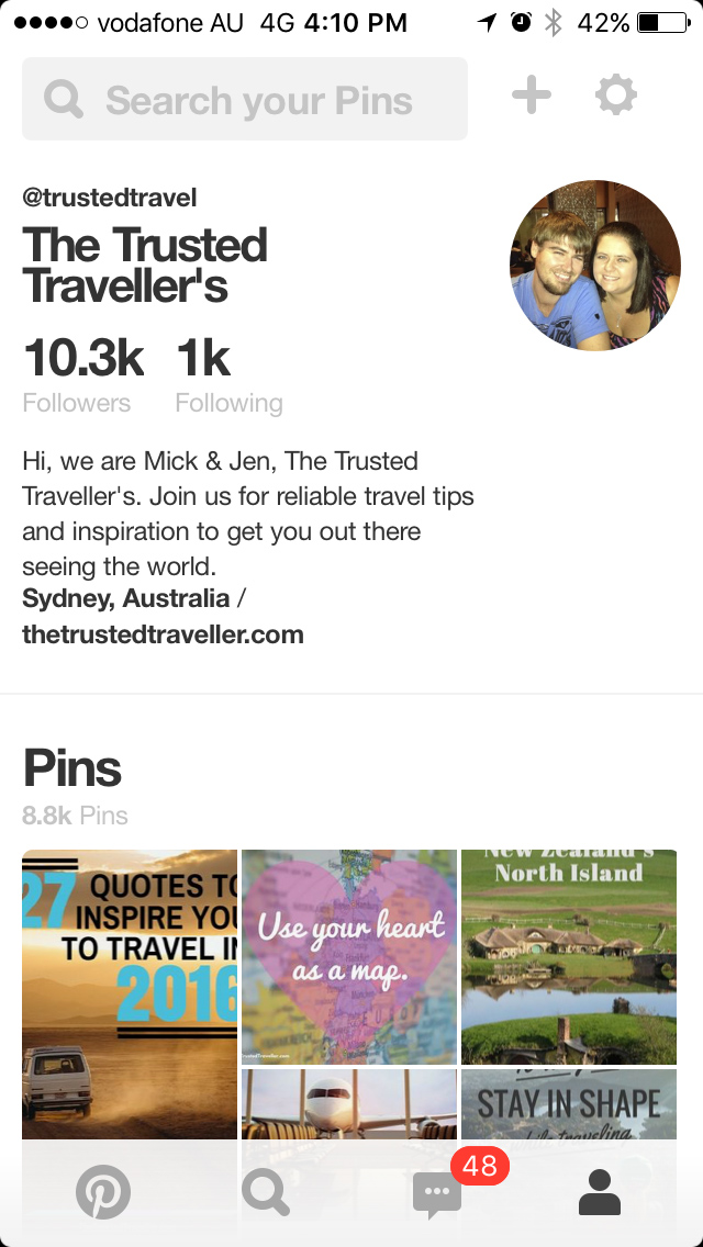 The Pinterest App - The Best Free Travel Apps to Help You Travel Smarter - The Trusted Traveller
