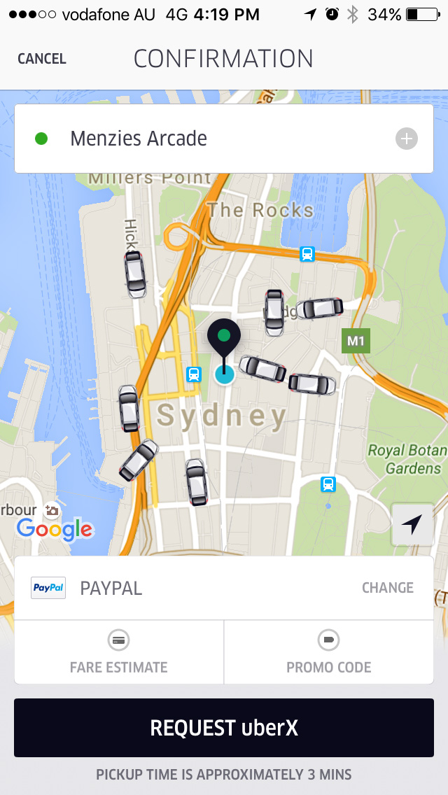 The Uber App - The Best Free Travel Apps to Help You Travel Smarter - The Trusted Traveller