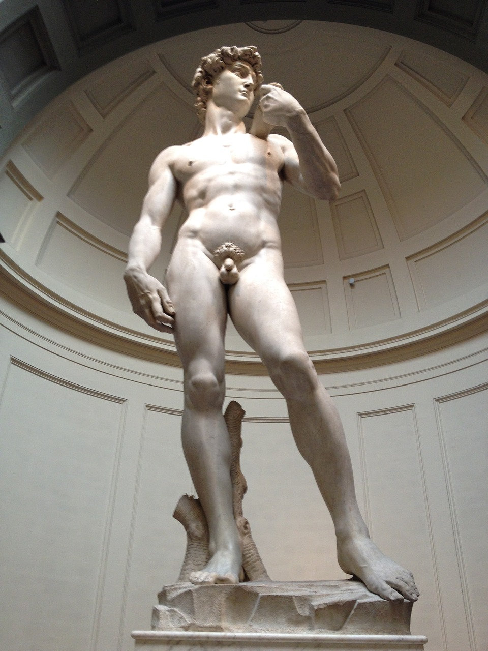Michelangelo's David at the Galleria della'Acccademia - Things to Do in Florence - The Trusted Traveller