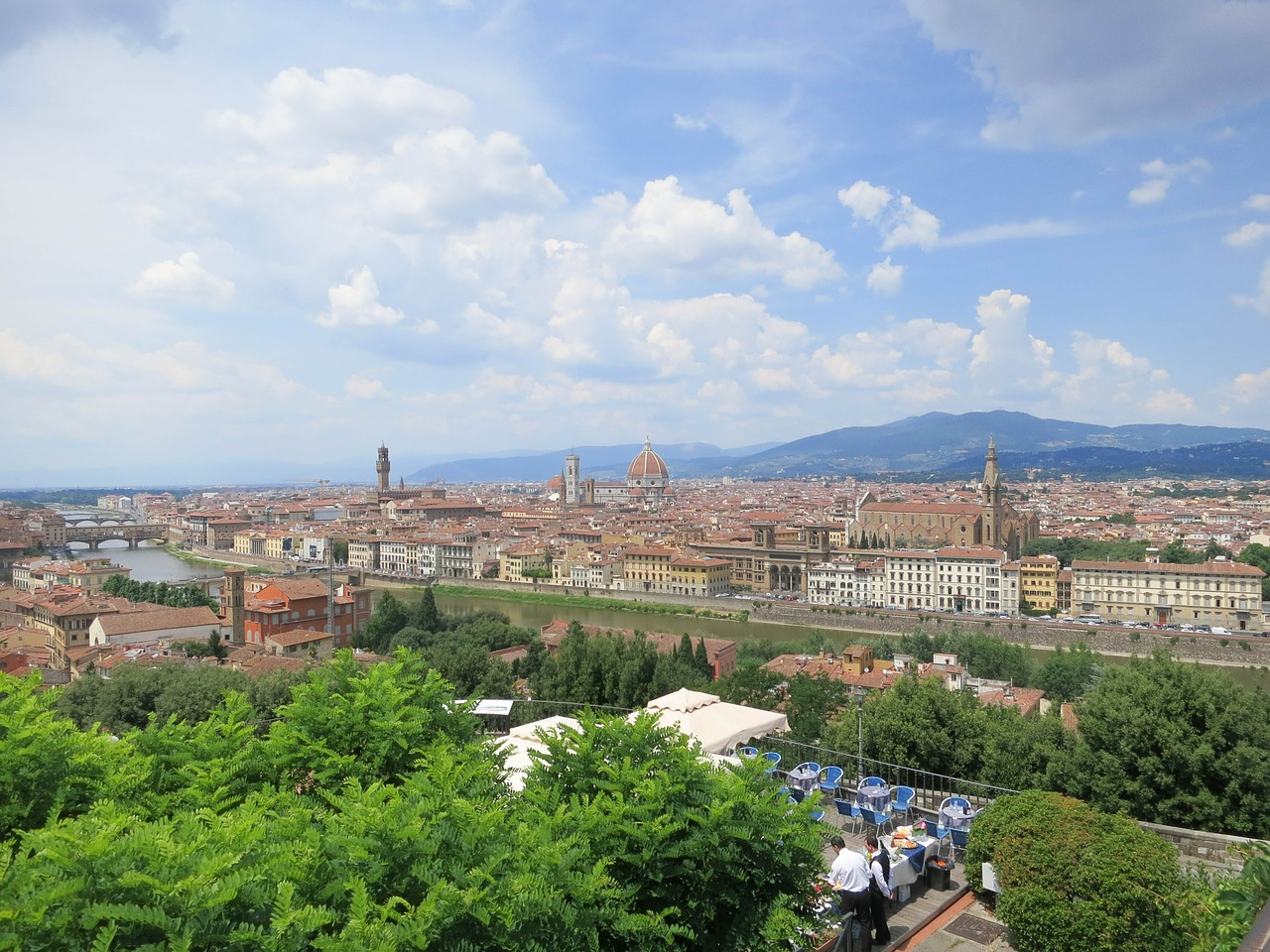 The amazing view from the Piazzale Michelangelo - Things to Do in Florence - The Trusted Traveller