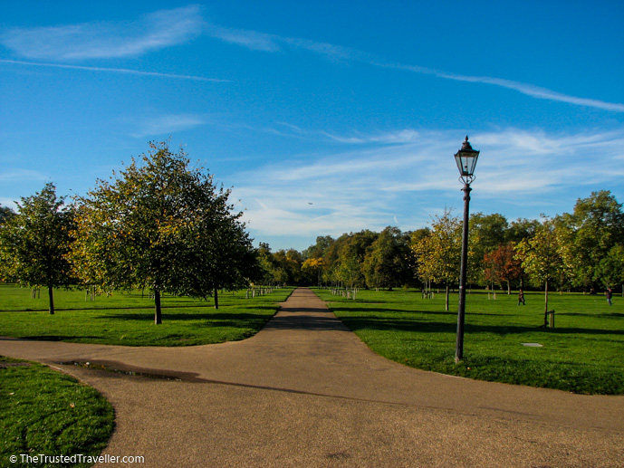 Hyde Park, London - See the Best of England: A Three Week Itinerary - The Trusted Traveller